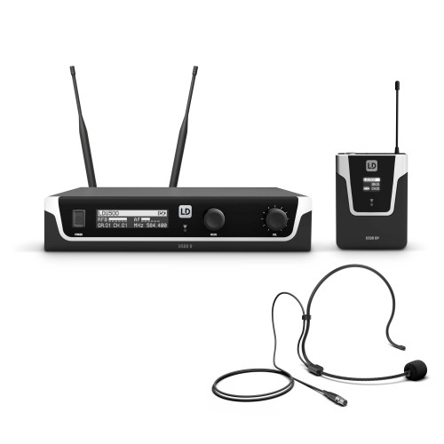 Wireless Systems with Bodypack and Headset