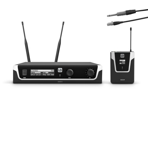 Wireless Systems with Bodypack and Instrument Cable