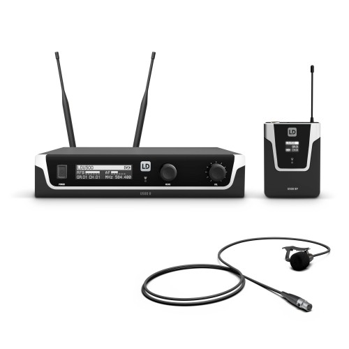 Wireless Systems with Bodypack and Wind Microphone